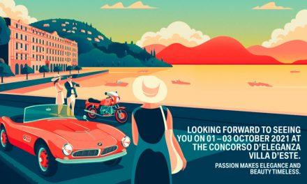 Concorso d'Eleganza Villa d'Este 2021: aplazado hasta octubre de 2021