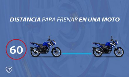 Conoce la distancia correcta para frenar en moto, por ITALIKA