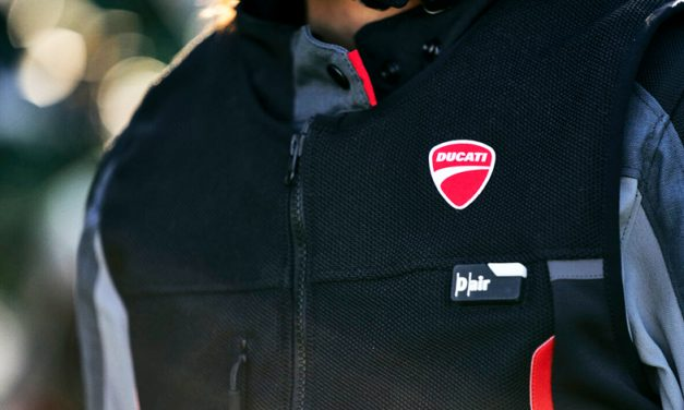 Dainese aplica su tecnología para la nueva Ducati Smart Jacket