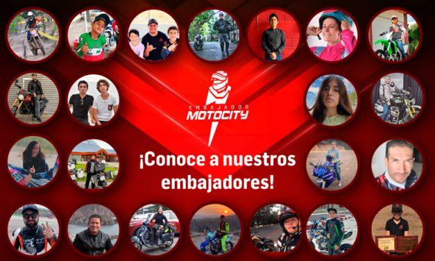 Conoce al equipo de Embajadores Motocity