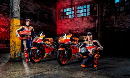 Repsol Honda presenta a su equipo de MotoGP