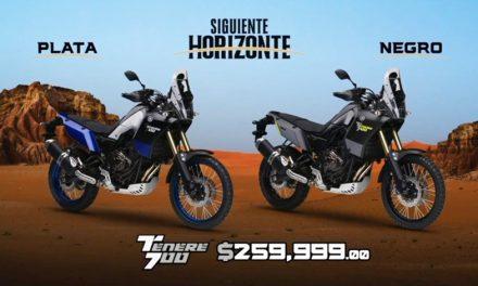 La nueva TÉNÉRÉ Yamaha 700