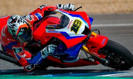El equipo Honda Racing Corporation realiza productiva sesión de pruebas en Jerez