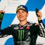 Maverick Viñales  con Yamaha se apodera del primer podio de MotoGP