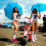 Tima Kuleshov, en mini bike pero con pasión grande