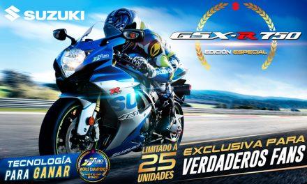 Suzuki GSX-R 750, edición especial