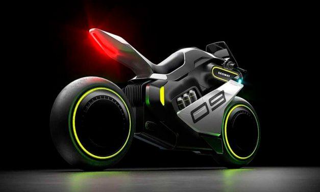 Segway Apex H2, la moto más futurista del 2021