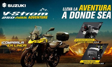 Suzuki V-Strom 250 Adventure, la cazadora de aventuras