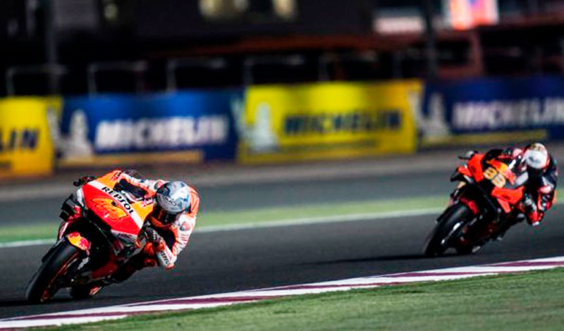 Repsol Honda Team suma puntos en la segunda prueba del Mundial de MotoGP en Doha