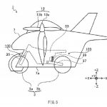 Subaru y su moto voladora