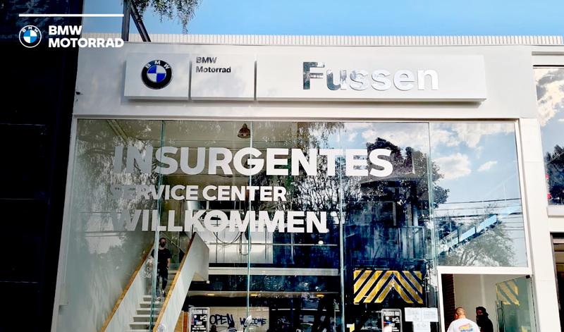 BMW Motorrad Fussen Insurgentes
