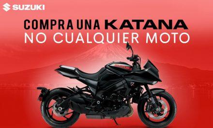 Suzuki KATANA, una moto inigualable