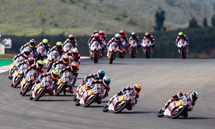 Nuevamente triunfó David Alonso en MotoGP Rookies Cup