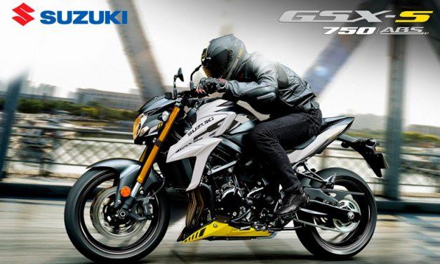 Libera tu lado más intrépido con la Suzuki GSX-S750 ABS 2021