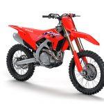 Nuevos modelos de Honda CRF450R y CRF450RX 2022