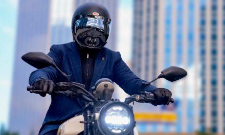 Elegancia y protección, un blazer para ir en moto