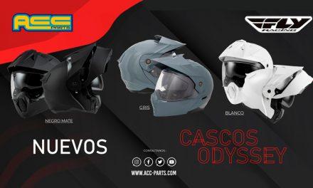 Nuevos cascos ODYSSEY ADV