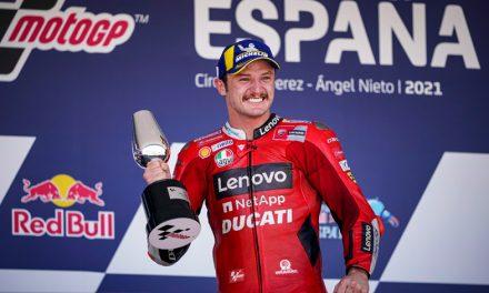 Extraordinario doblete del Ducati Lenovo Team en el GP de España