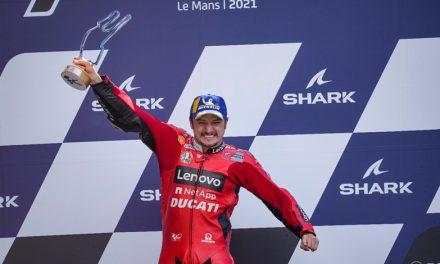Segunda victoria seguida de Miller, primero en el GP de Francia en Le Mans.