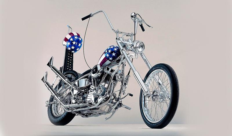 A subasta la moto del Capitán América
