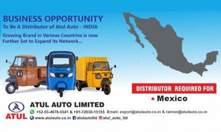 ATUL Auto Limited busca Distribuidor Importador para México