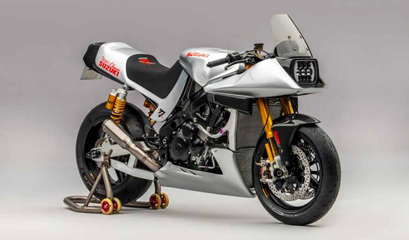 Suzuki Katana, una modificación al estilo Superbike