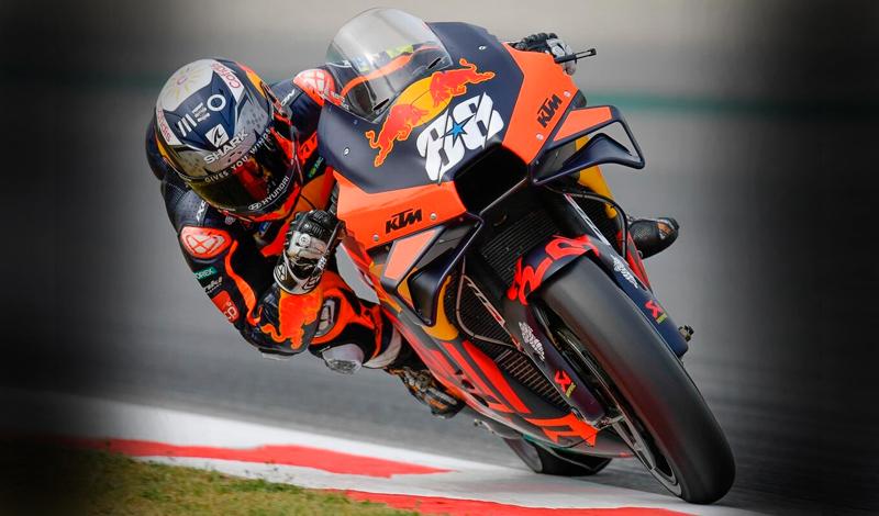 Oliveira pone a KTM en lo más alto en el GP de Cataluña