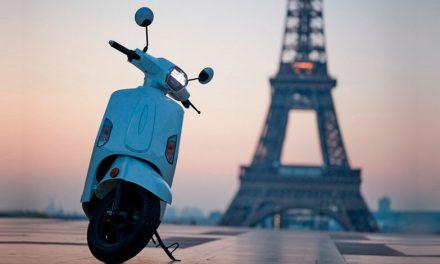 Mob-ion AM1, un scooter eléctrico que funciona con hidrógeno
