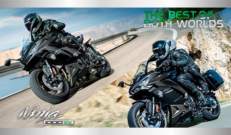 Lo mejor de ambos mundos, Ninja® 1000 SX