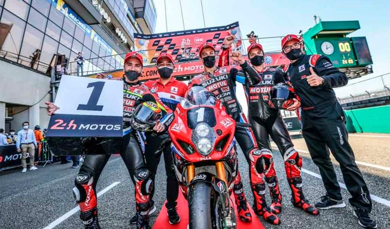 Suzuki gana las 24 horas de Le Mans
