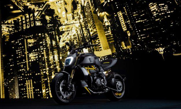 """Nueva versión """"Black and Steel"""" para la Diavel 1260 S"""
