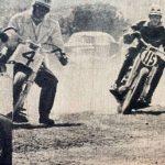 Moto carreras en Tampico en 1964