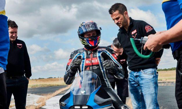 Max Biaggi intentará romper récord de velocidad