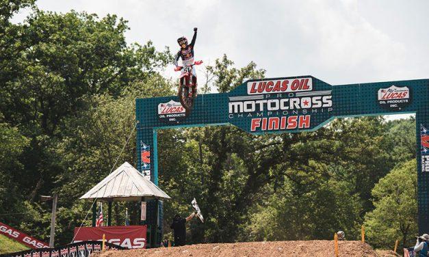 Justin Barcia consigue su primer triunfo en AMA Motocross