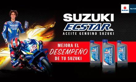 Aumenta el poder de tu Suzuki con aceites genuinos Ecstar
