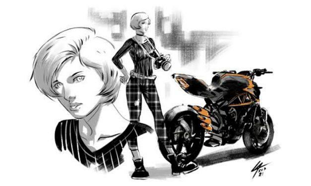 MV agusta presenta cómic protagonizado por su gama de motocicletas