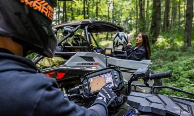 Tecnología Ride Command, innovación para pequeños y grandes aventureros