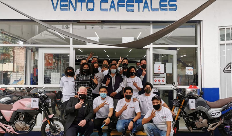 Inauguración VENTO Cafetales & MONDO DI MOTO