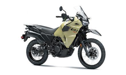 La leyenda está de vuelta. Nueva Kawasaki KLR® 650 ABS 2022