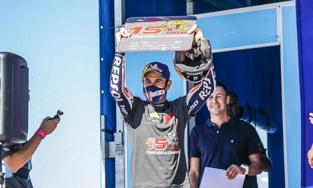 Toni Bou con Honda campeón del mundo de Trial
