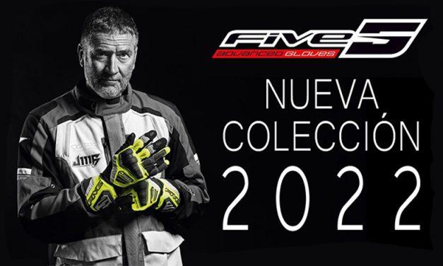 La marca FIVE nos presenta su nueva colección 2022 de guantes para motociclistas.