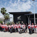 Honda PowerHouse Culiacán se galardona con una rodada hacia la playa