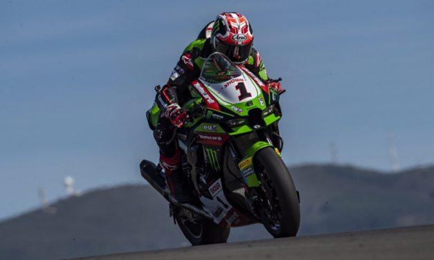Jonathan Rea regresa a lo más alto del podio en el Campeonato Mundial de Superbikes en Portugal